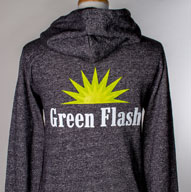 Men's Grey Zip-Up Hoodie
