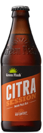 Citra Session beer bottle