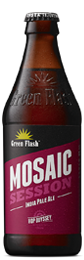 Mosaic beer bottle