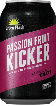 Passion Fruit Kicker beer bottle