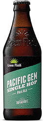 Pacific Gem beer bottle