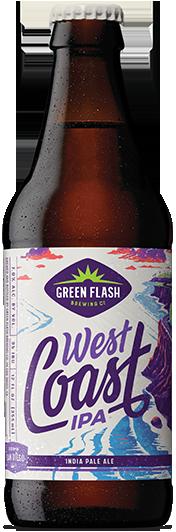 West Coast IPA Bottle beer bottle