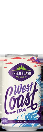 West Coast IPA Can beer bottle