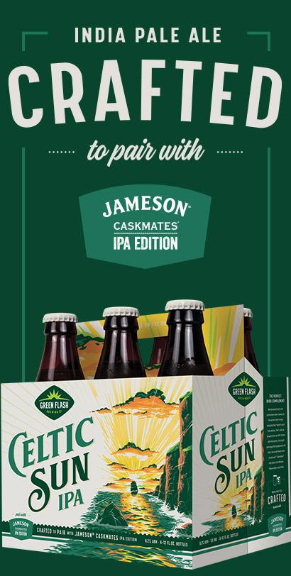 Celtic Sun Beer Bottle
